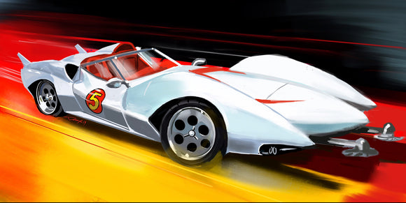 Speed Racer Mach 5 - realcarartist