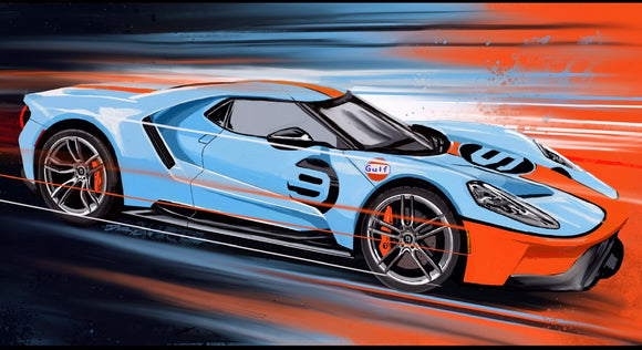 Ford Gt Heritage Edition - realcarartist