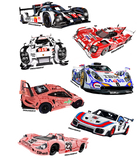 Porsche Racing Assortment Stickers - realcarartist