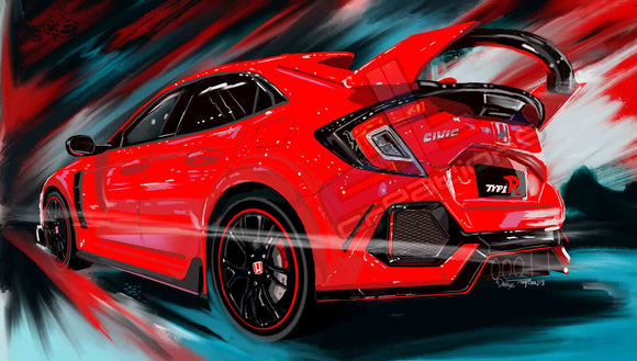 Civic Type-R - realcarartist