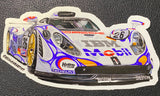 Porsche 911 GT1 Sticker - realcarartist
