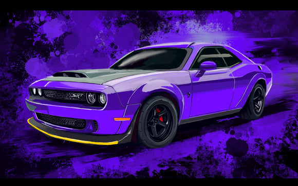2018 Dodge Demon srt - realcarartist