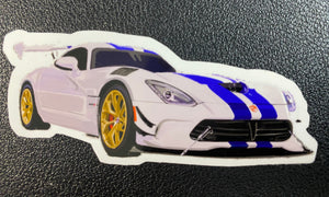 Dodge Viper Sticker - realcarartist