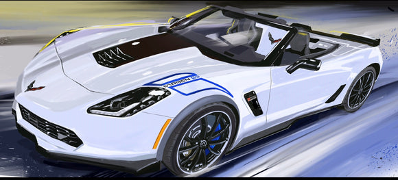 Carbon 65 Corvette - realcarartist