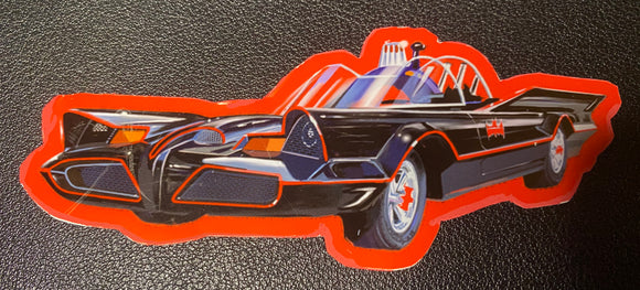 The bat mobile Sticker - realcarartist