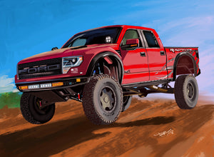 Baja Ford Raptor - realcarartist