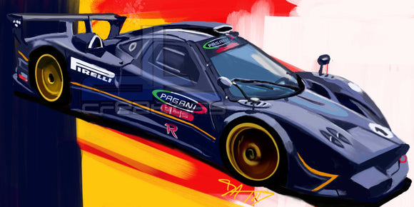 Pagani race car - realcarartist