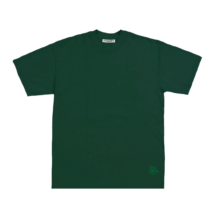 LOGO BASIC T-SHIRT (HUNTER GREEN)