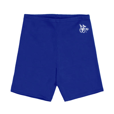 LOGO BIKER SHORTS (ROYAL BLUE)