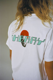 THE MENACE T-SHIRT (PURE WHITE)