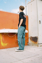 "Load image into Gallery viewer, ""THE WORM"" DICKIES WORK PANTS (TEAL)"