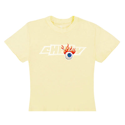 FLYING EYEBALL BABY T (CANARY YELLOW)