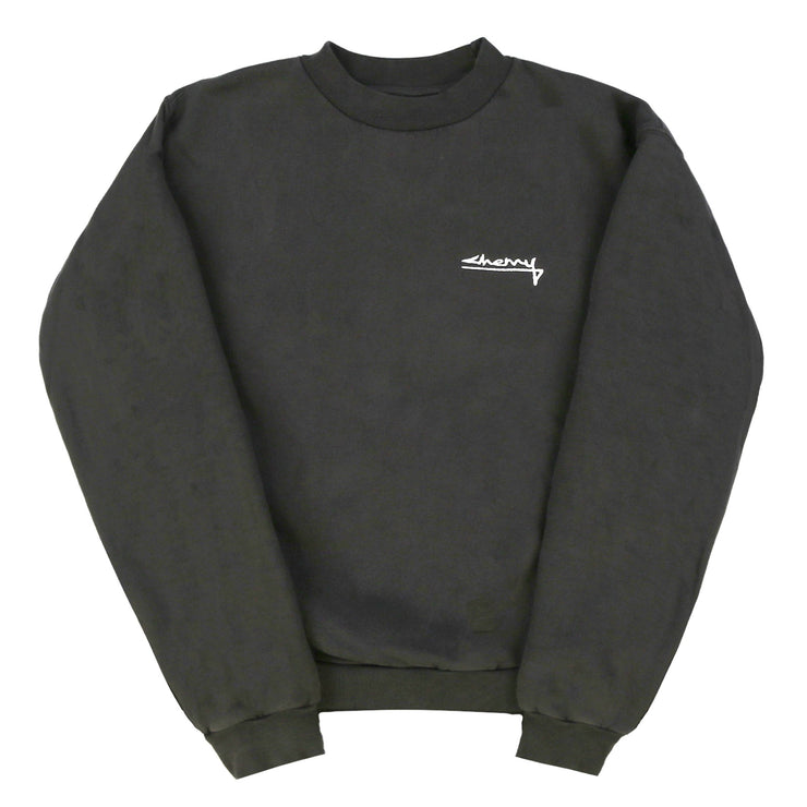 SUMMER CLASSIC CREWNECK SWEATSHIRT (OFF BLACK)