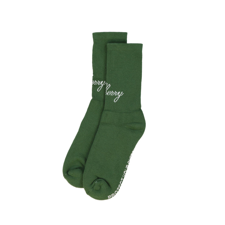 AMERICAN CLASSIC SOCKS (FOREST GREEN)