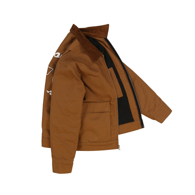 POWER ATELIER WORK JACKET (CARAMEL)