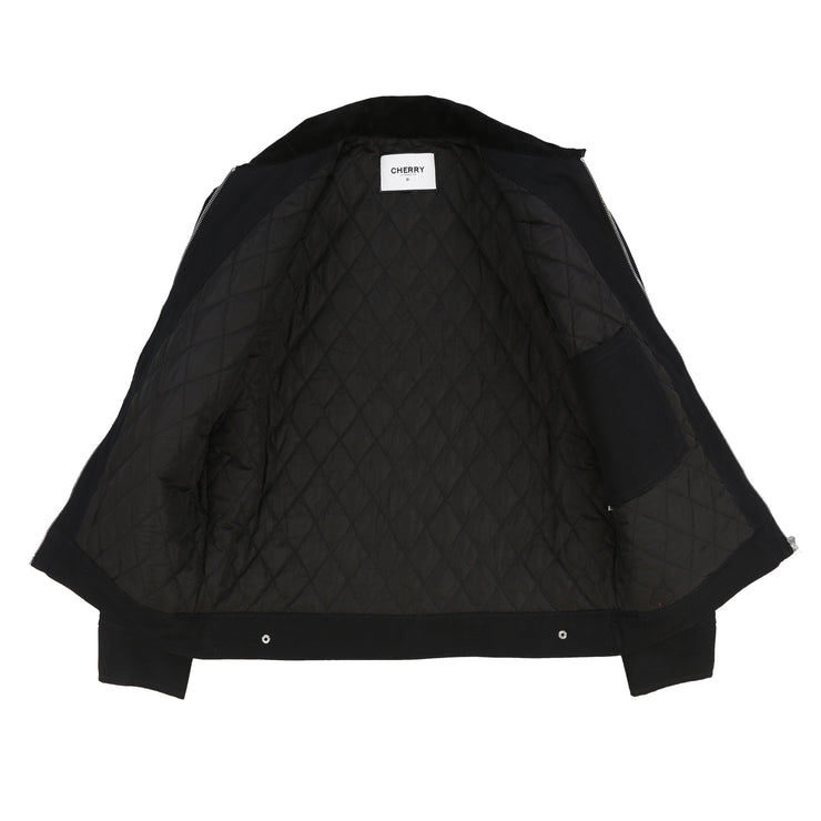 POWER TELIER WORK JACKET (BLACK)