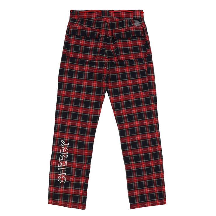 CLA Work Pants (Navy Plaid)