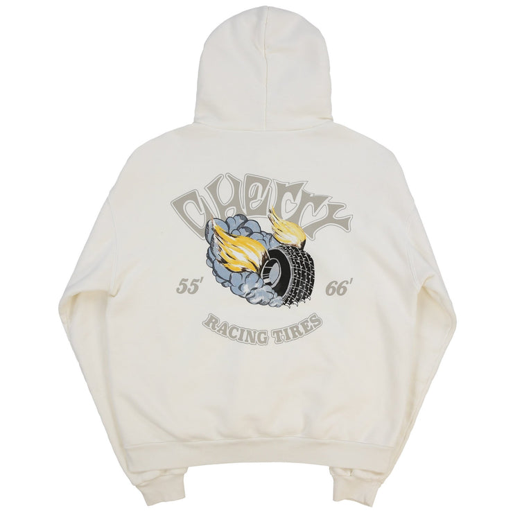 RACING TIRES HOODIE (CREAM)