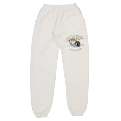 RACING TIRES SWEAT PANTS (CREAM)