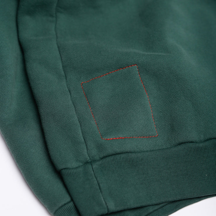 RACING TIRES HOODIE (HUNTER GREEN)