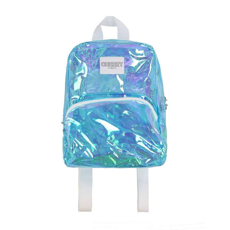 RAVE MINI BACK PACK (TRANSLUCENT BLUE)