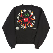 AUTO SHOP CREWNECK SWEATSHIRT (OFF BLACK)