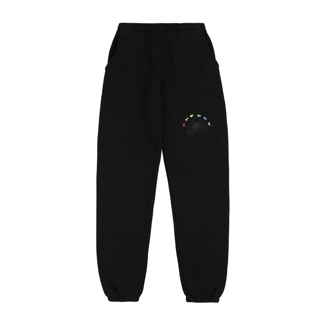 BLOSSOM SWEATPANTS (JETT BLACK)