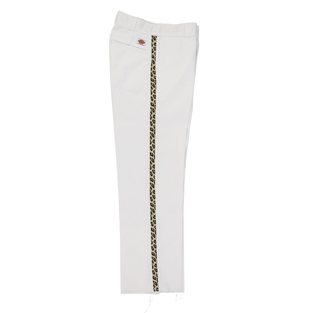 LEOPARD TUXEDO DICKIES (PURE WHITE)