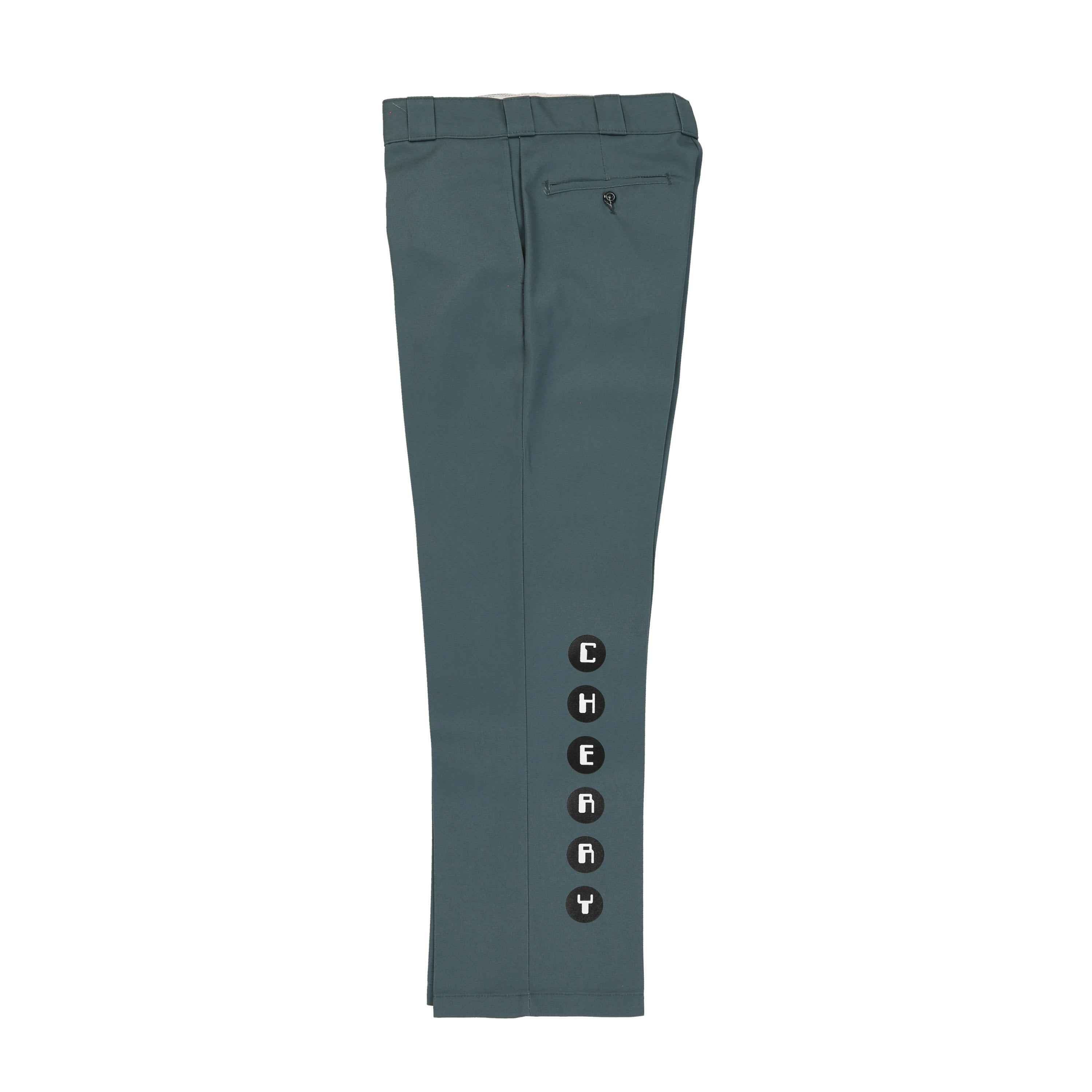 """THE WORM"" DICKIES WORK PANTS (TEAL)"