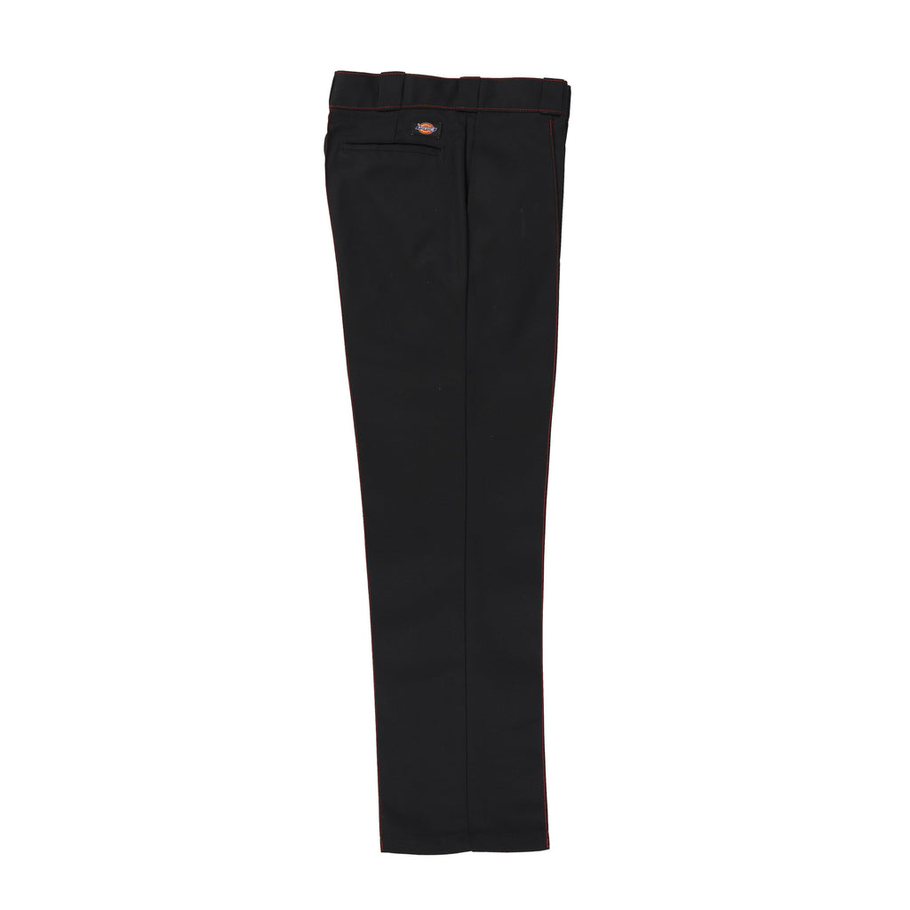 CHERRY X DICKIES STRAIGHT LEG WORK PANT (BLACK & RED)