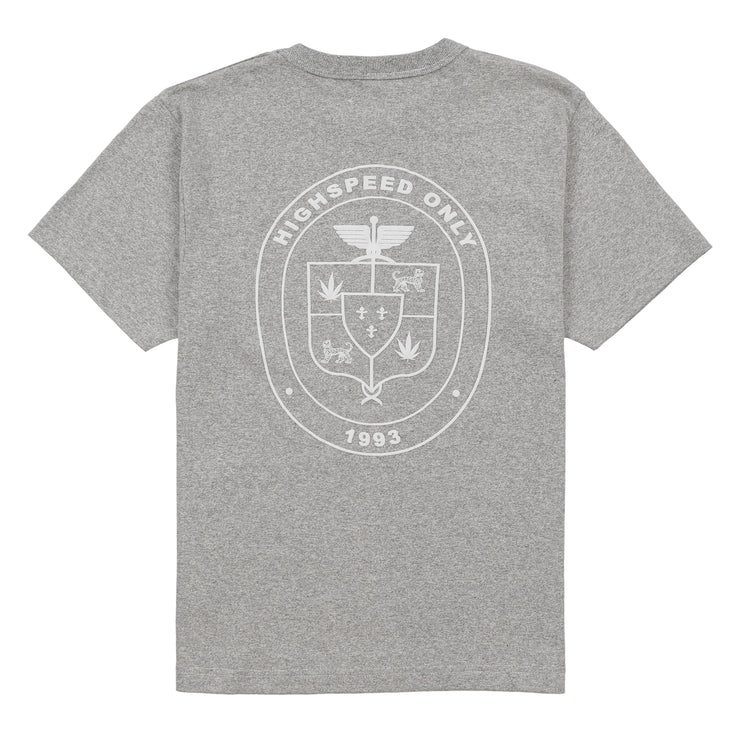 ADHD ATHLETIC T-SHIRT (ASH GREY)