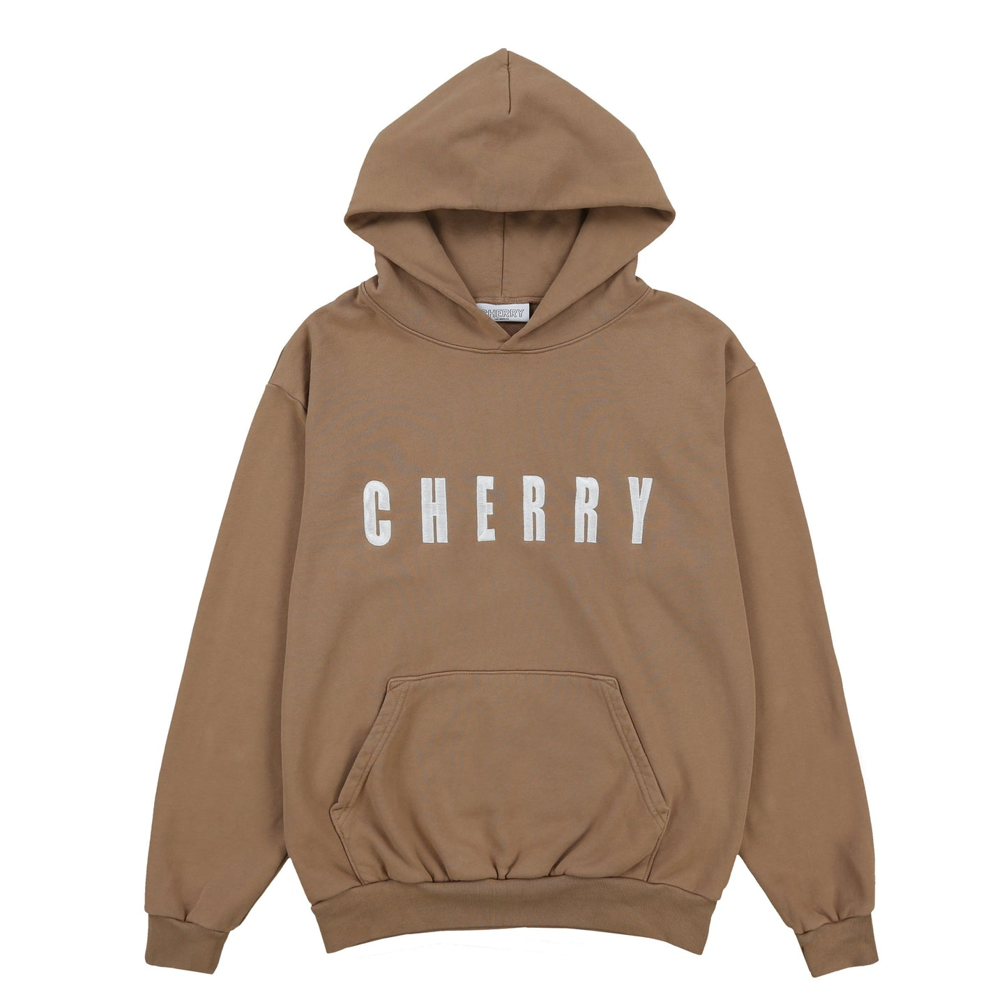 CHERRY EMBROIDERED HOODIE