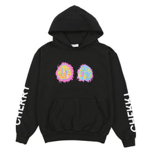 Load image into Gallery viewer, BRAIN HOODIE (JETT BLACK)