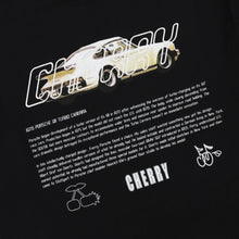 Load image into Gallery viewer, STOLE MY POPS PORSCHE T-SHIRT (RUBBER BLACK)