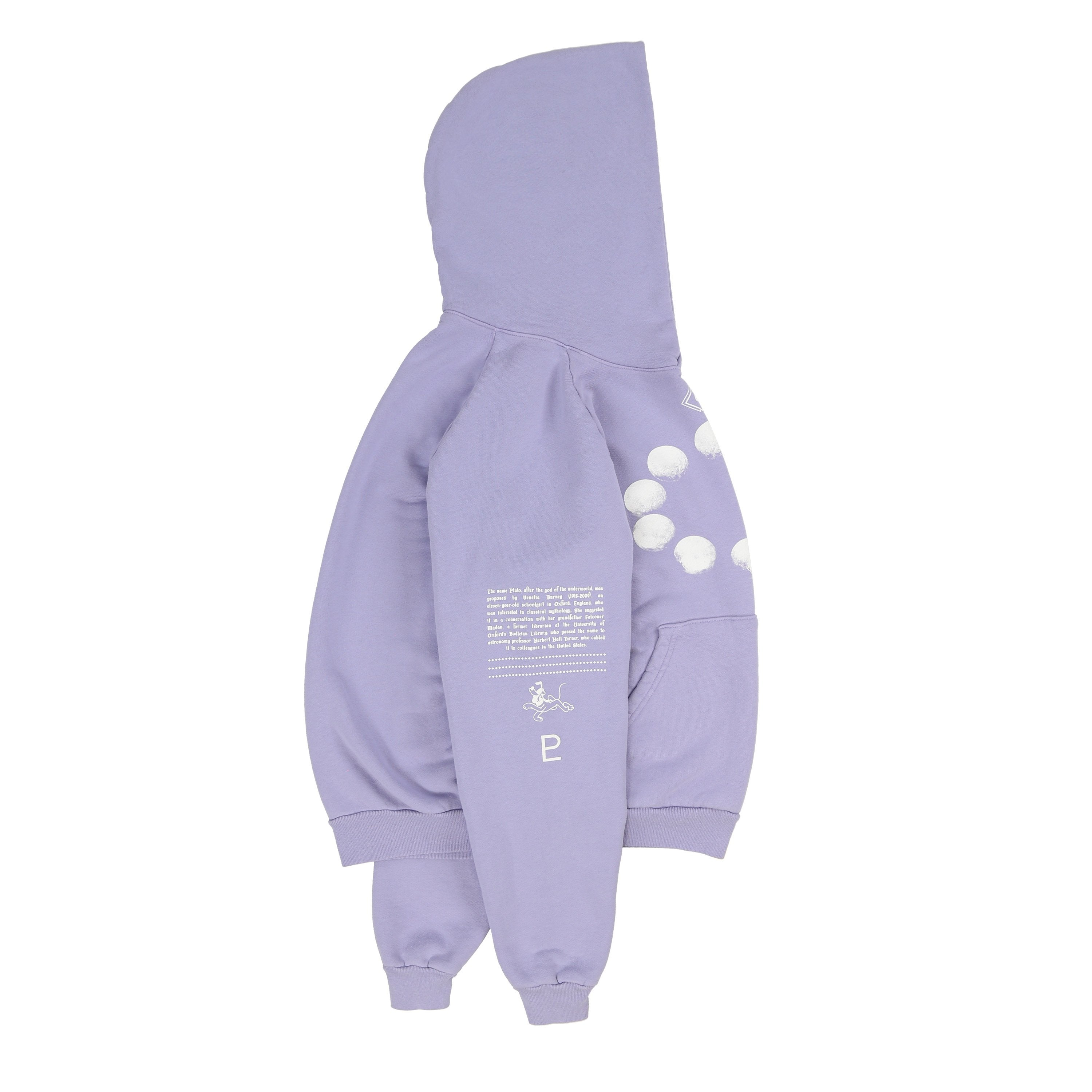 A DAY ON PLUTO HOODIE (BABY GRAPE)