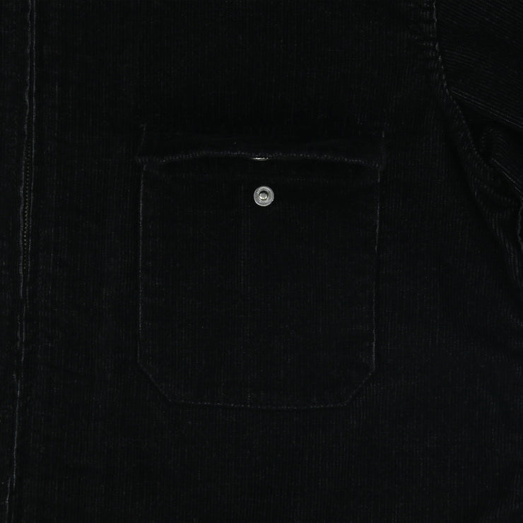 CORDUROY SHIRT JACKET (JETT BLACK)