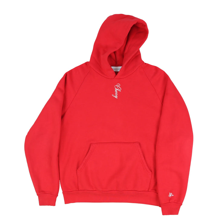 AMERICAN CLASSIC HOODIE (CHERRY RED)