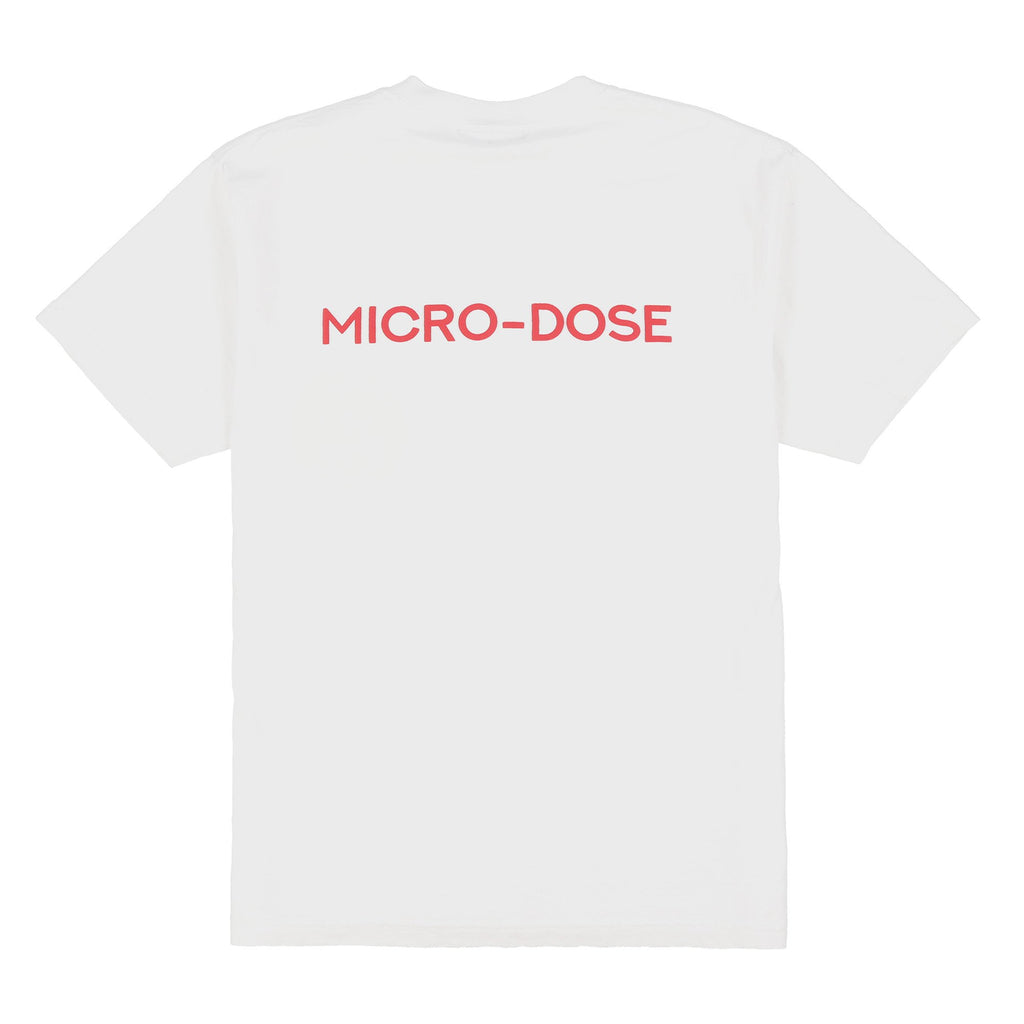 MICRO-SMILEY T-SHIRT (PURE WHITE)