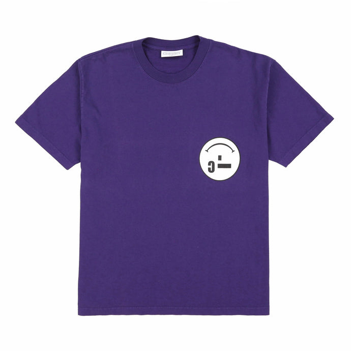MICRO-SMILEY T-SHIRT (LAKER PURPLE)