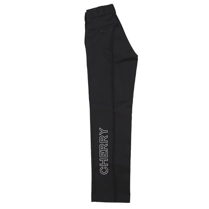 CHERRY X DICKES STRAIGHT LEG WORK PANT (BLACK)