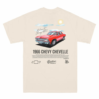 Cherry Chevelle Malibu T-Shirt (+1 TICKET)