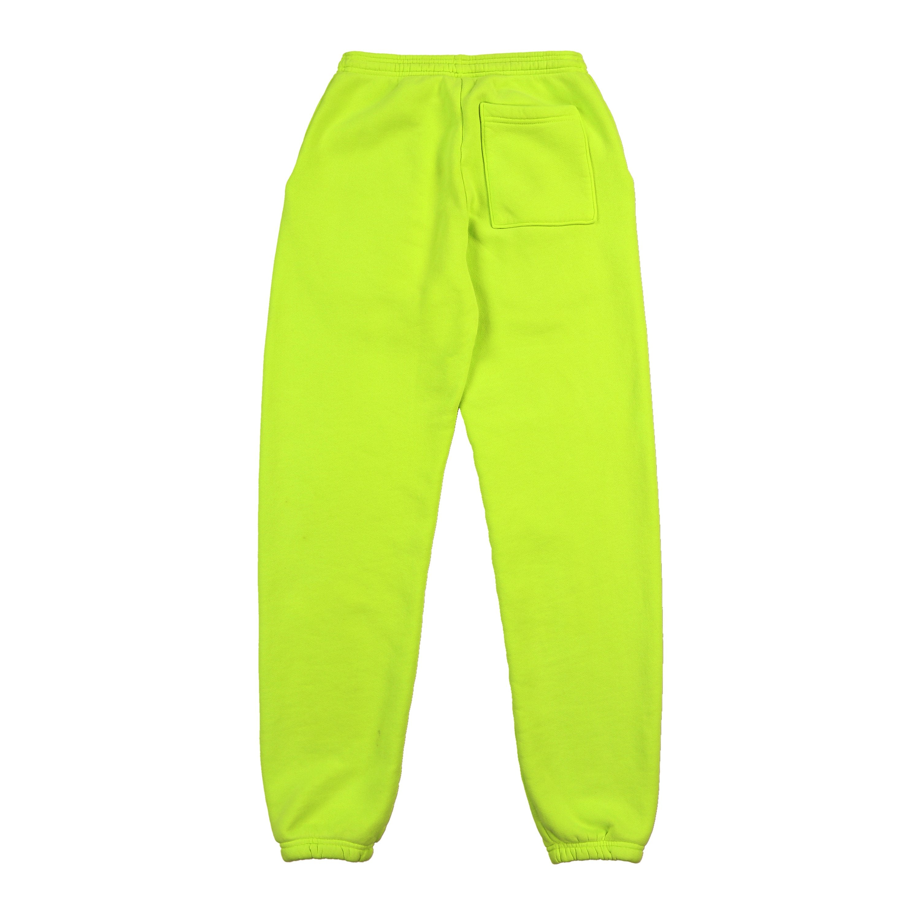 AMERICAN CLASSIC SWEATPANTS (NEON YELLOW)