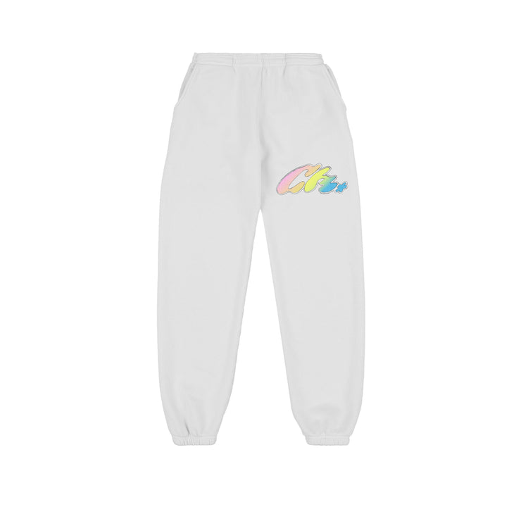 WAVE SWEAT PANTS (VINTAGE WHITE)