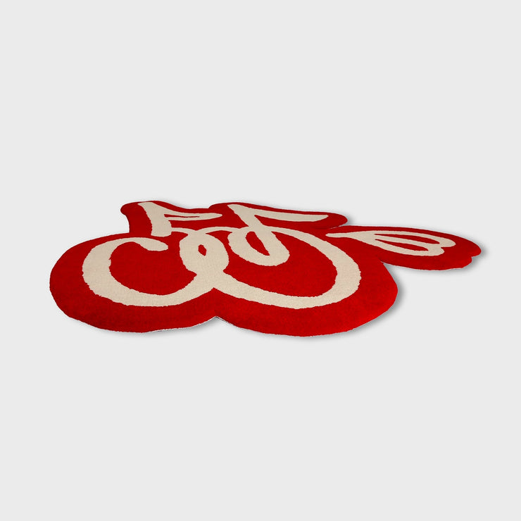 LOGO RUG (RED & CREAM)