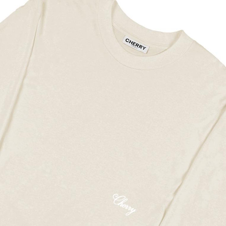 AMERICAN CLASSIC LONG SLEEVE T-SHIRT (BONE)