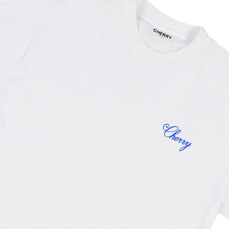 AMERICAN CLASSIC T-SHIRT (VINTAGE WHITE & BLUE)