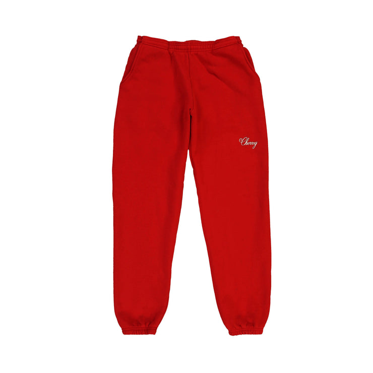 AMERICAN CLASSIC SWEAT PANTS (CHERRY RED)