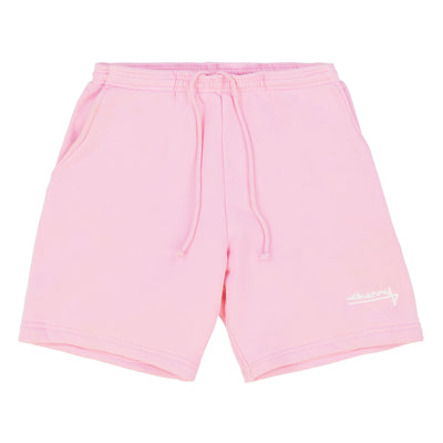 SUMMER CLASSIC SWEAT SHORTS (BUBBLE GUM)