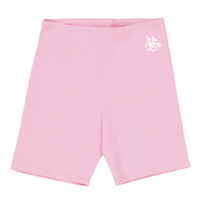 LOGO BIKER SHORTS (BUBBLE GUM)