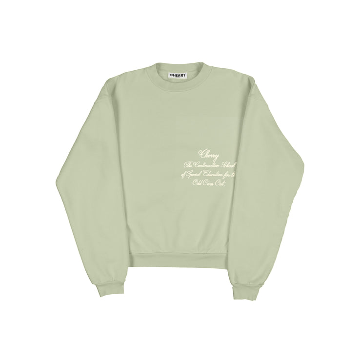 ODD ONES OUT CREWNECK SWEATSHIRT (SAGE)
